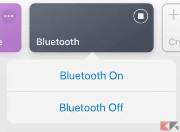 bluetooth comandi ios 2