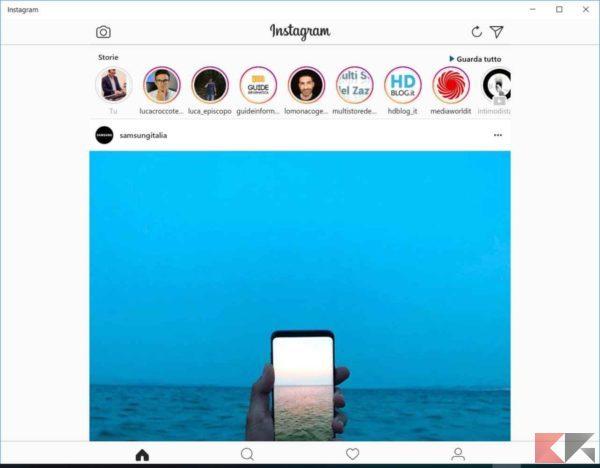 come chattare su Instagram da PC 2