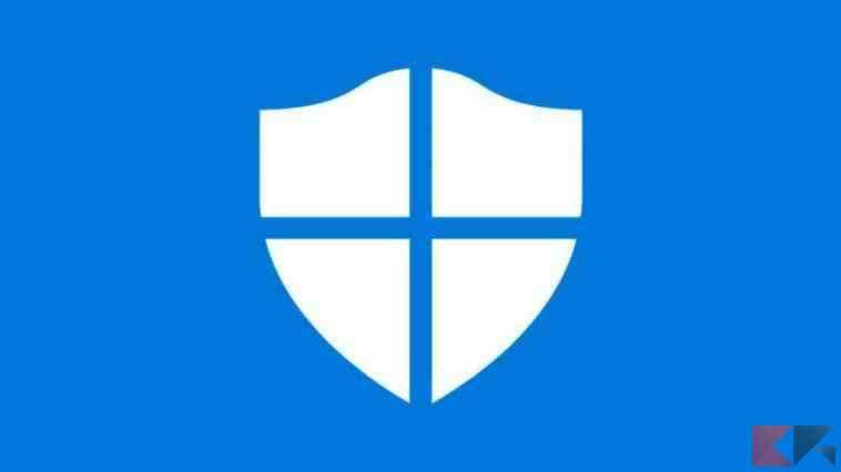 come disattivare l'antivirus su Windows 10