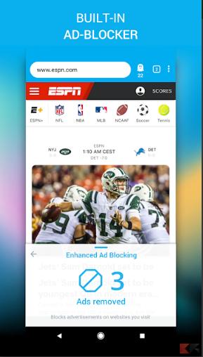 Ghostery Privacy Browser si aggiorna alla versione 2.0 con t