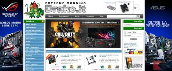 i migliori siti per comprare componenti PC - Drako