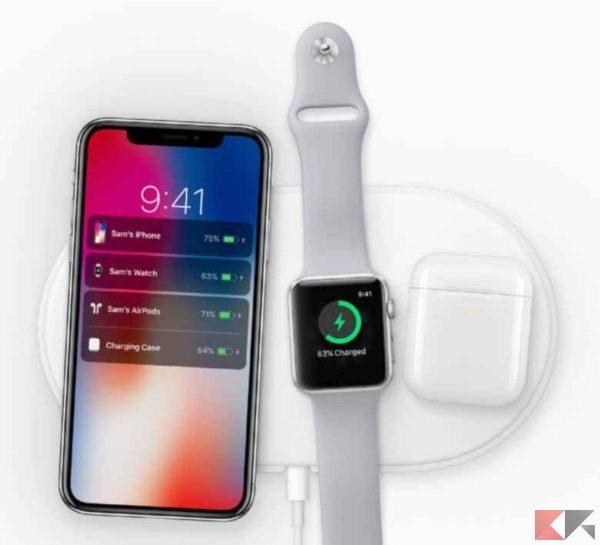 iPhone XS e XS Max |  ricarica wireless migliorata