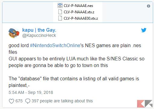 Nintendo Switch Online già hackerato a poche ore dal lancio