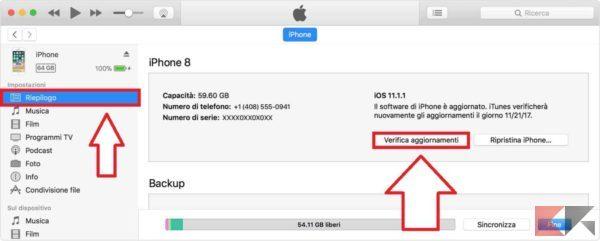 come aggiornare iOS