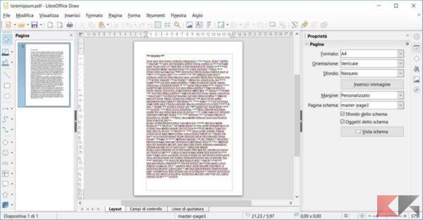 modificare testo pdf libreoffice 2