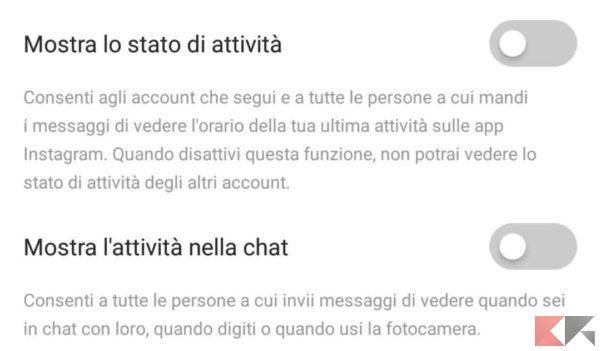 non farsi spiare instagram
