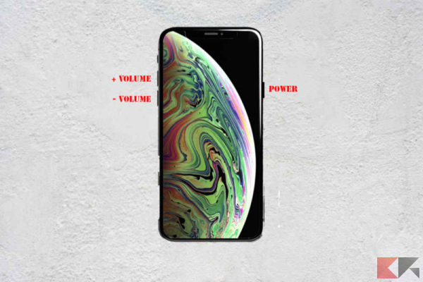 Come fare hard reset DFU su iPhone XS e XS Max