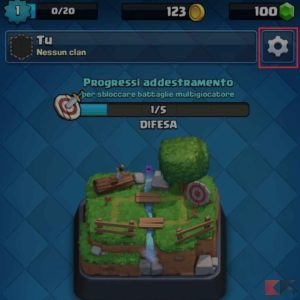 recuperare account clash royale android