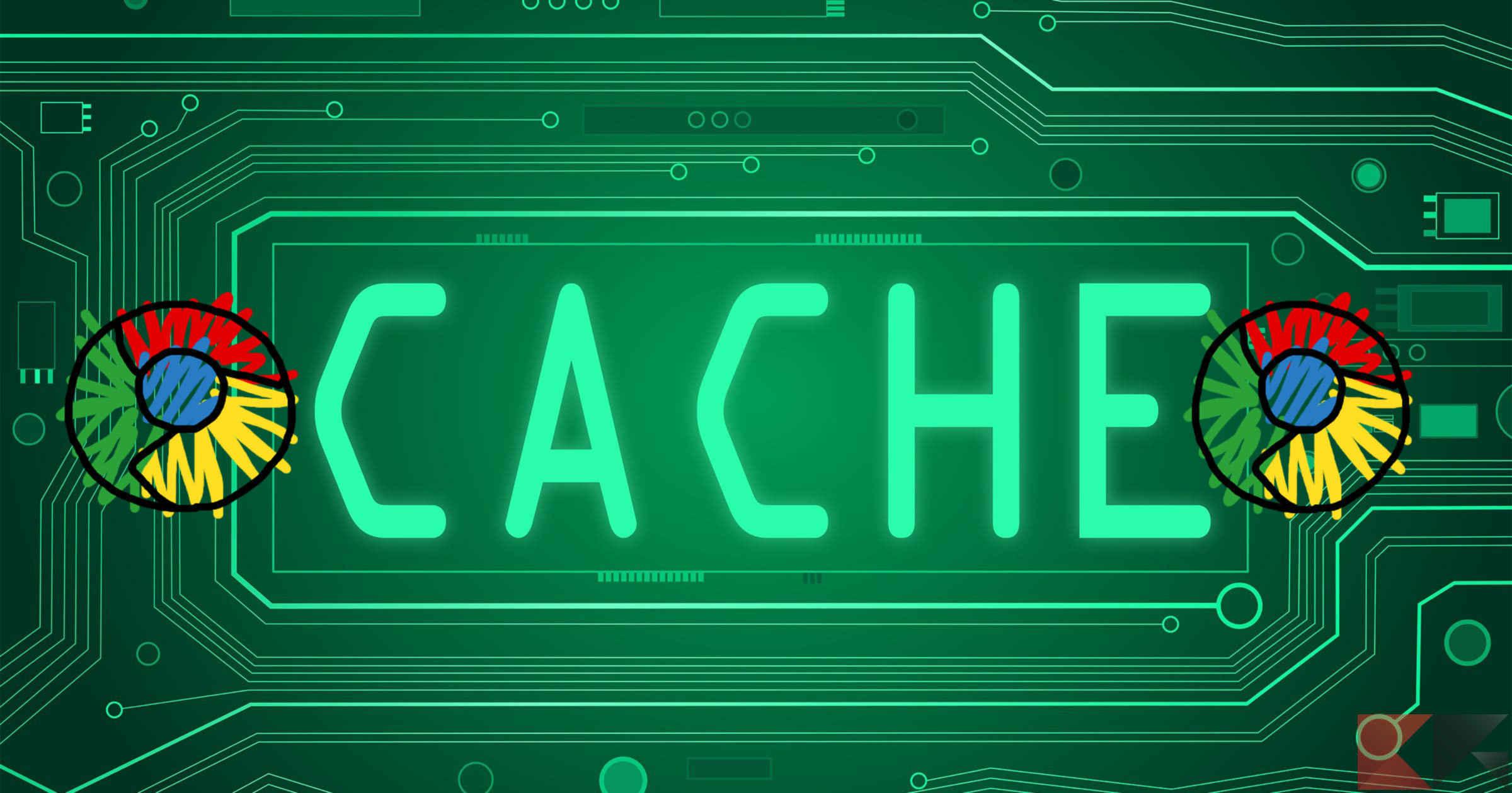 svuotare cache chrome 1