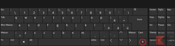 Come premere il tasto destro del mouse con la tastiera