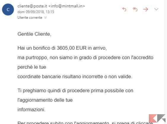 truffa phishing