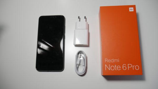 Xiaomi Redmi Note 6 Pro design