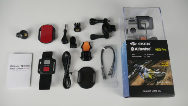 Elken Alfawise V50 Pro action cam 4K