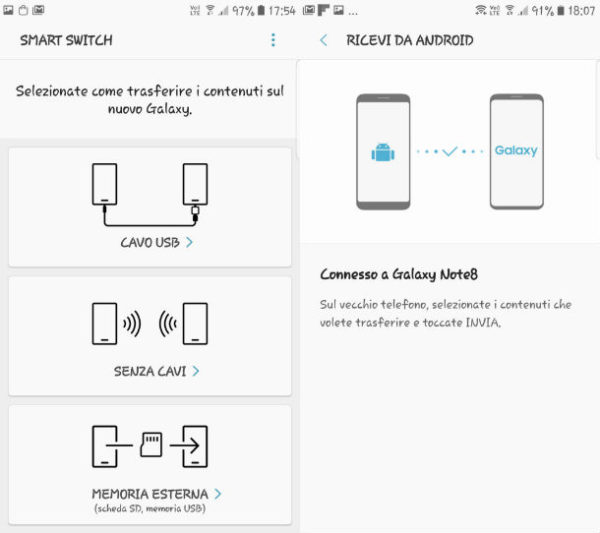 2 telefoni smartswitch