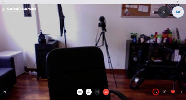 Come condividere lo schermo su Skype 2
