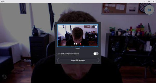 Come condividere lo schermo su Skype 3