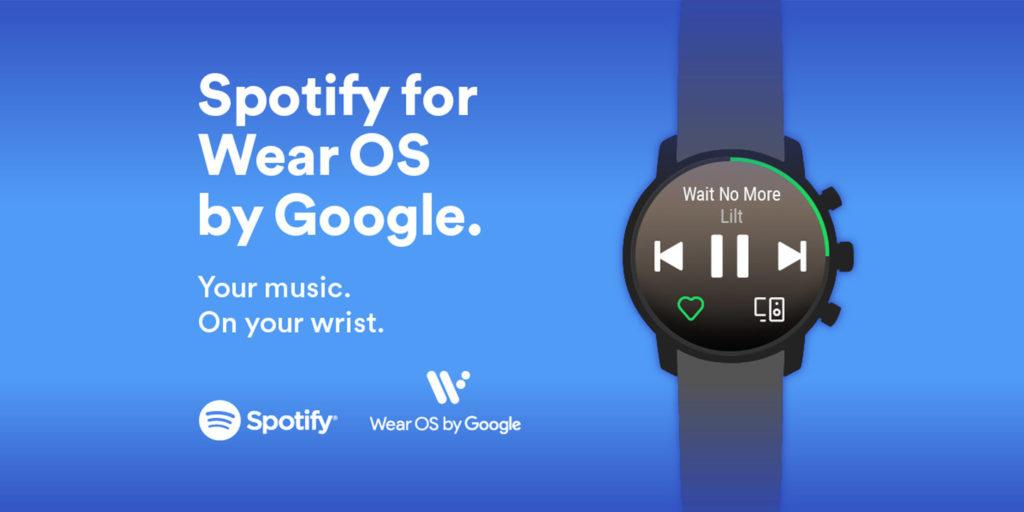 Spotify su Wear OS