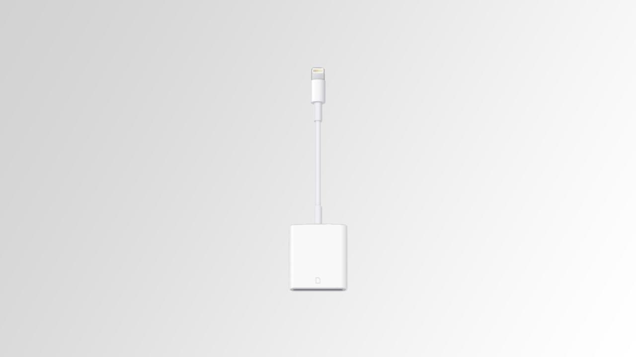 adattatore micro sd ipad 1