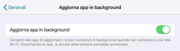 aggiornamenti automatici app