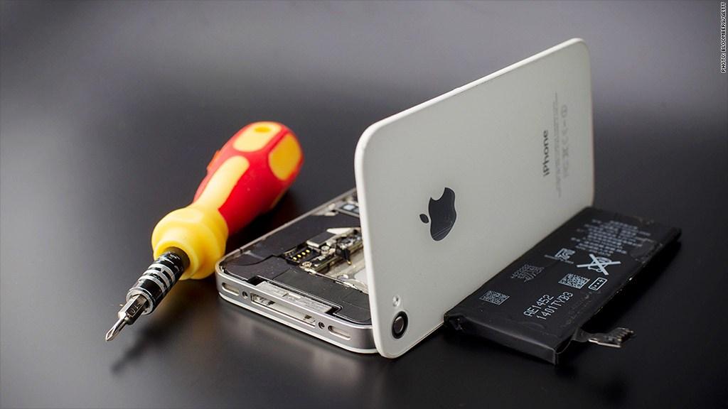 cambiare batteria iphone