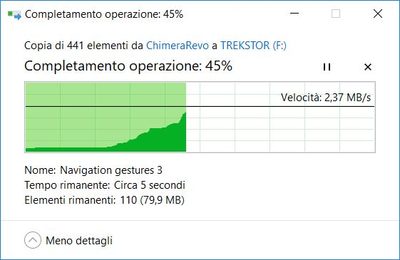 come trasferire file su hard disk esterno Windows 4