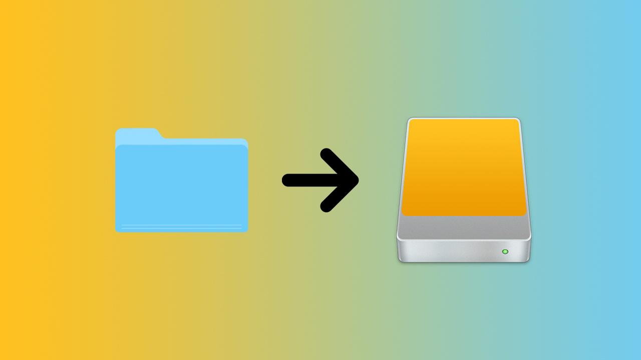 come trasferire file su hard disk esterno