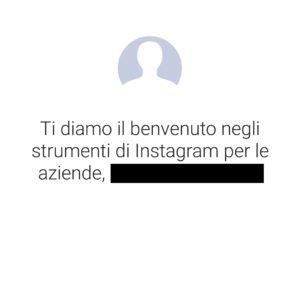 creare profilo aziendale instagram 2
