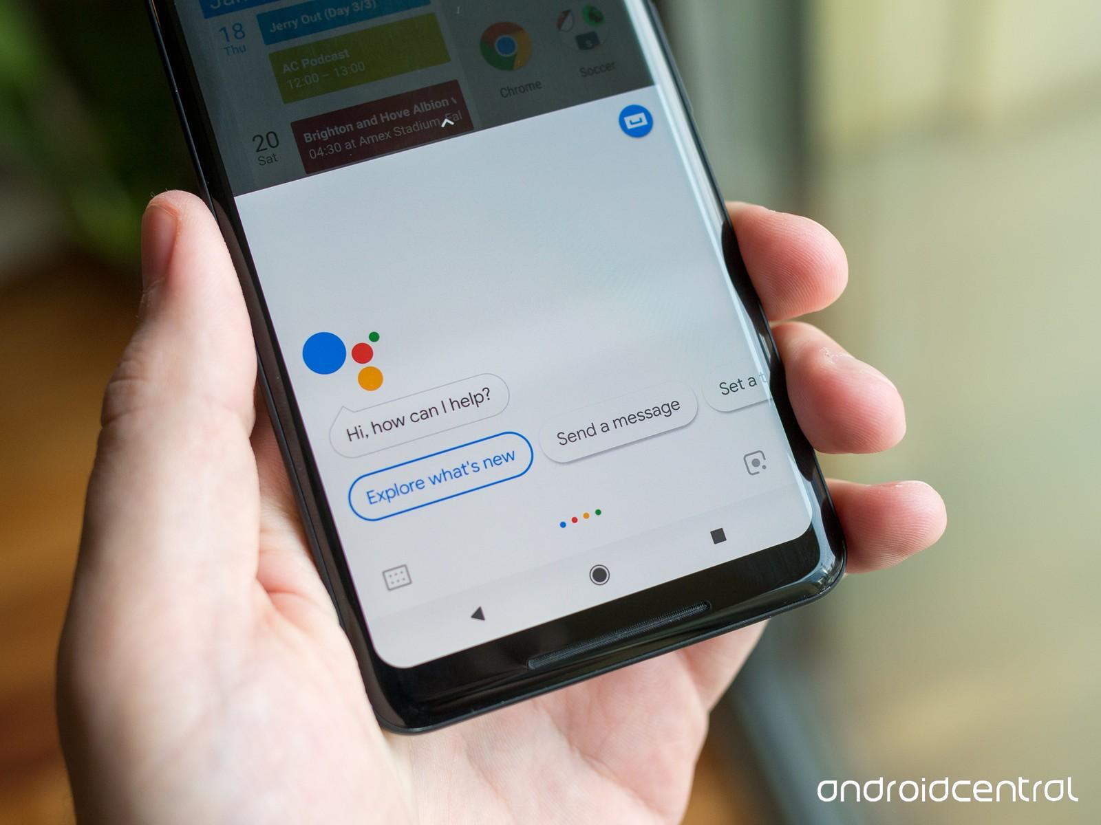 google pixel 2 xl google assistant voice