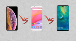 iPhone Xs vs Google Pixel 3 vs Huawei Mate 20