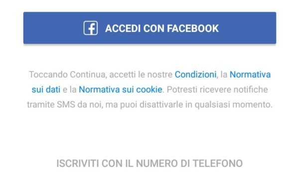messenger senza account facebook