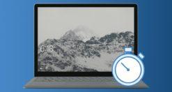 schermo sempre acceso Windows 10 logo