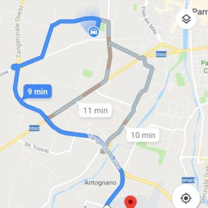 tragitto google maps 2