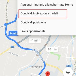 tragitto google maps 3