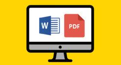 trasformare file Word in PDF