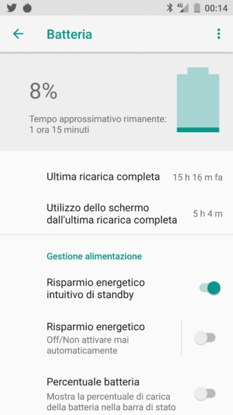Elephone Soldier recensione battery batteria