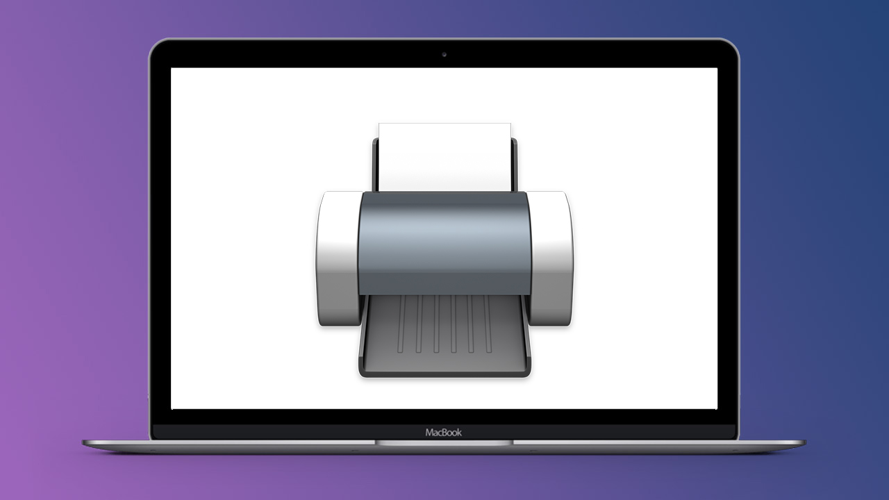 come stampare più pagine in un foglio con Mac