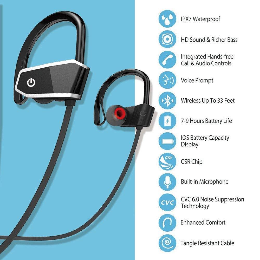 Meno di 10€ per queste cuffie Bluetooth IPX7 sportive!  codice sconto  -  ChimeraRevo c6981e5e3b3a
