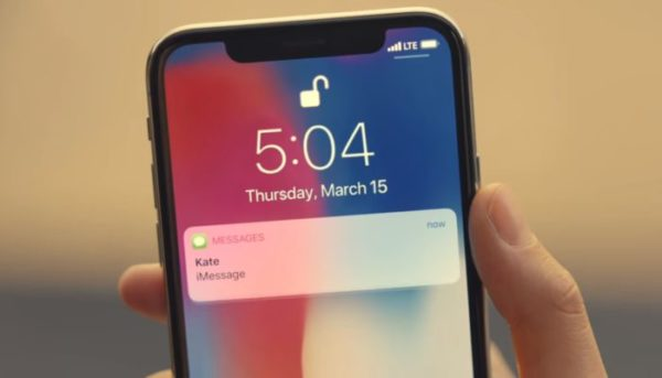 iPhone X sequestrato e formattato