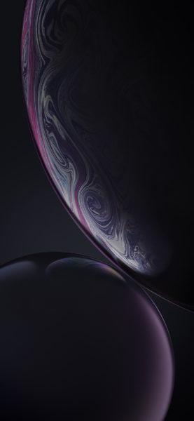 sfondo iPhone XR black