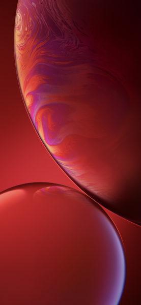 sfondo iPhone XR red
