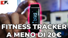 Yuanguo fitness tracker recensione smartband