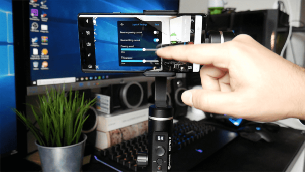 Recensione FeiyuTech SPG 2 gimbal per smartphone