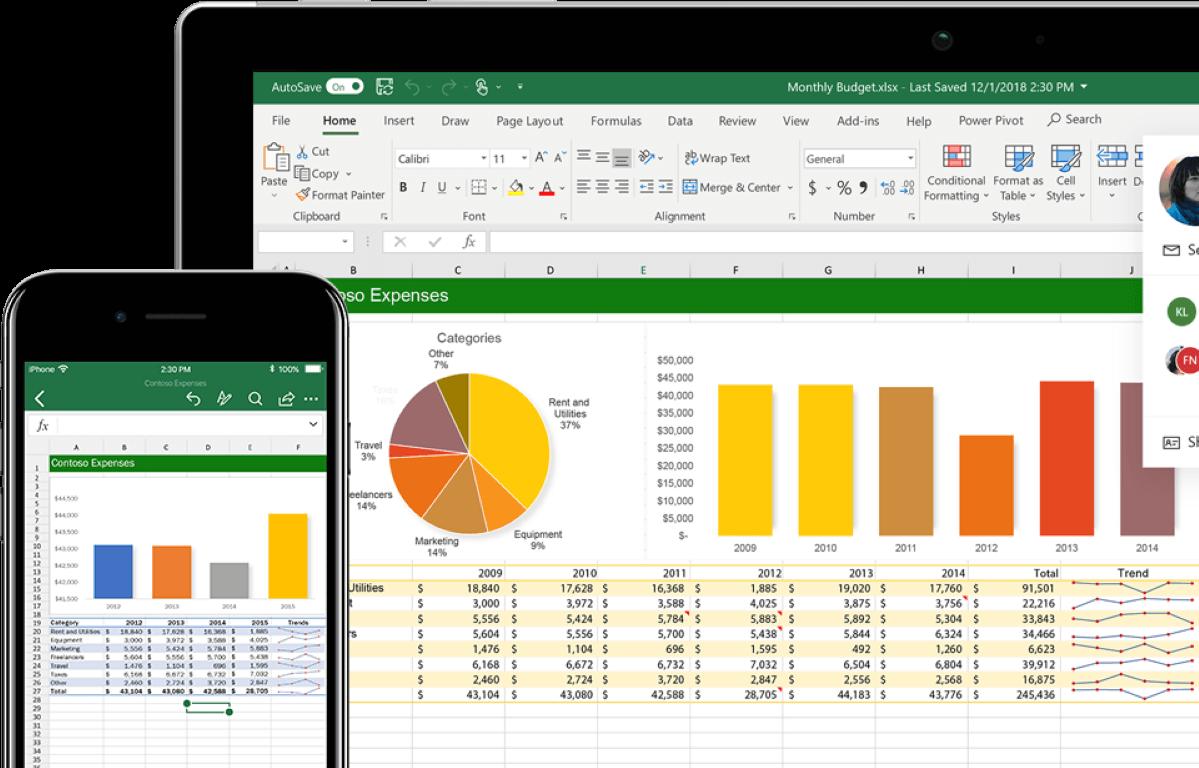 Come nascondere colonne in Excel 1