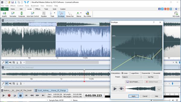 Migliori programmi di editing audio e musicale gratis