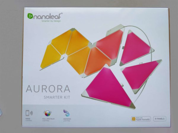 Nanoleaf Light Panels Remote Rhythm recensione review