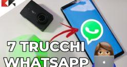 7 trucchi whatsapp