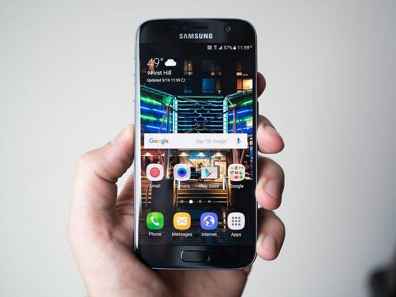 Come creare cartelle su Samsung 1