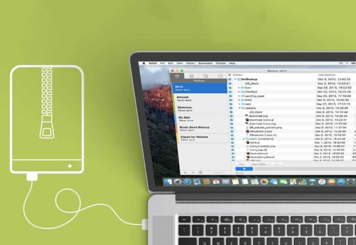 Come fare un backup Mac 1