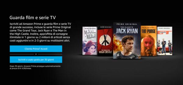 Come vedere Amazon Prime Video sulla TV