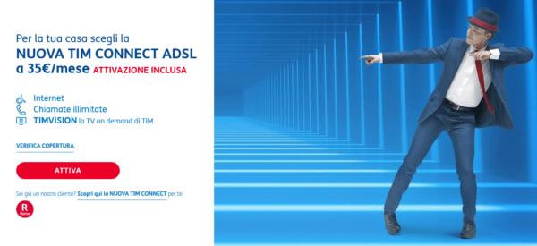 Offerte TIM ADSL gennaio 2019